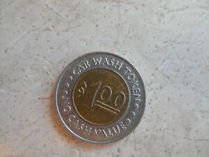 Mr. Sudsy Car Wash $1.00 Token
