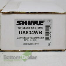 Shure Wireless Systems UA834WB Active Remote In-Line Antenna Kit (470-900 MHz)