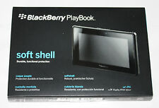 100%GENUINE BlackBerry PlayBook SOFTSHELL (Durable,Functional,Protection) -BLACK