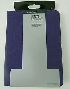 """Tesco Finest Canvas Folio Amazon Kindle Paperwhite and kindle touch 6"""" - NEW"""