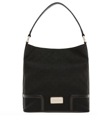 OROTON SIGNATURE O MYSTICAL HOBO BAG HANDBAG Black - New