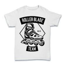 Camiseta De Skate Rodillo Hoja para Hombre Patinar Freestyle Rollerblade C210 Street S-3XL