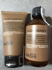 Nashi Argan Shampoo 250 ml and Conditioner 150 ml Filler Therapy Restorative NEW