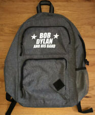 Bob Dylan And His Band 2019 Tour VIP Backpack Leed's Gray Black NWOT
