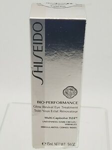 SHISEIDO Bio-Performance Glow Revival Eye Treatment 15ml/ .54oz, Sealed!