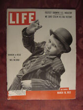 LIFE magazine March 10 1952 Brandon De Wilde Mrs. McThing Natural Gas