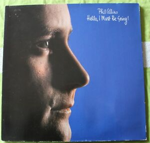 Phil Collins, hello i must be going, LP - 33 tours