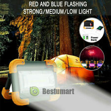 2600mAh Emergency Rechargeable LED Work Light Floodlights Power Bank SOS Torch A