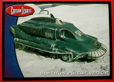 CAPTAIN SCARLET - Card #68 - Spectrum Pursuit Vehicle - Cards Inc. 2001