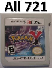 Pokemon Y Unlocked All 721 2DS 3DS XL Masterball Rare Candies Candy Mega Pikachu