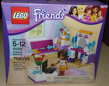 NEW Lego Friends ANDREA'S BEDROOM Set #41009 w/ Laptop Factory Sealed NIB