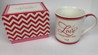 TWO'S COMPANY Love Conquers All - Virgil Ceramic Coffee Mug - Fast Free Shipping
