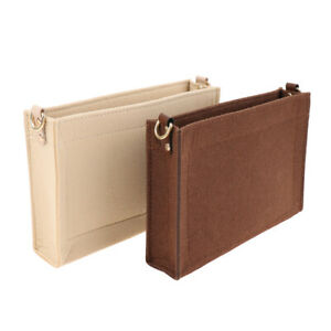 Bag Purse Insert Organizer D ring Toiletry Organizer Bag Makeup Bag Pouch Inser~
