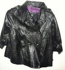 INC Internationl Concepts Womens Leather Jacket Size Small