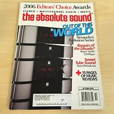 The Absolute Sound Issue 165, 2006 TAS MUSIC Editors' Choice Awards Review