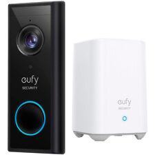 Anker eufy video inalámbrico timbre 2K de alta densidad de dos vías de hablar alimentado por batería