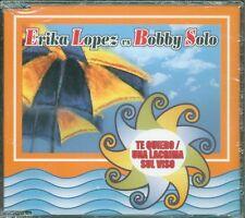 Erika Lopez Vs Bobby Solo - Te Quiero/Una Lacrima Sul Viso 3 Tracks Cd Excellent