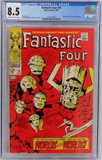 Marvel Comics Fantastic Four #75 CGC 8.5 Silver Surfer Galactus Appearances 1968