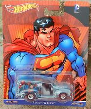 2016 Hot Wheels *SUPERMAN* CUSTOM '52 Chevy Delivery Real Riders *DC COMICS* NIP