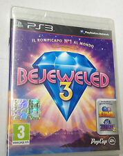 BEJEWELED 3  PS3 PLAYSTATION 3 PAL NUOVO SIGILLATO
