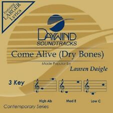 Lauren Daigle - Come Alive Dry Bones - Accompaniment  CD  NEW