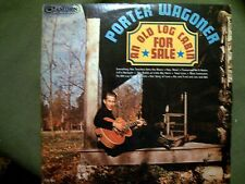PORTER WAGONER AN OLD LOG CABIN FOR SALE 1965 RECORD RCA CAMDEN CAL 861