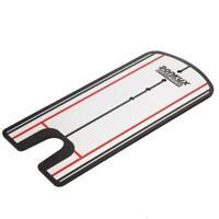 Golf Putting Mirror Training Eyeline Alignment Practice Aid Swe Traine Portable