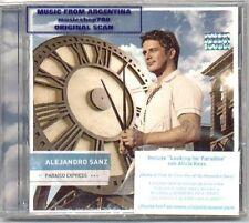 ALEJANDRO SANZ PARAISO EXPRESS SEALED CD NEW 2009