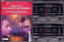 2 MC Das Gesicht des Fremden - Anne Perry - der hörverlag - 2 Cassetten