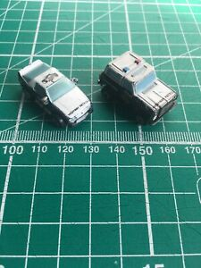 Micro Machines, Galoob,  Police Chevy Blazer & Camaro, Fair Condition, Free Post