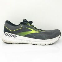 Brooks Mens Transcent 7 1103311D029 Black Green Running Shoes Lace Up Size 10 D