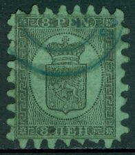 FINLAND : 1874. Scott #7b Fresh & Very Fine, Used with Blue cancel. Catalog $300
