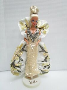 Vintage 1991 Bob Mackie Barbie 3rd in Timeless Treasures Collection Platinum