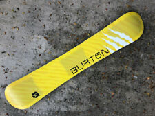 Burton T6 162 Terje Translucent Honeycomb All Mountain & carver Made in USA