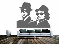 BLUES BROTHERS - Stencil in A5 A4 A3 A2 A1 A0 FAM135