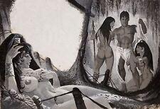 Akt- & Erotik-Malerei zeitgenössische künstlerische Öl