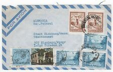 1970's ARGENTINA Air Mail Cover OLIVOS to NIENBURG GERMANY