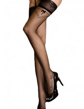 Sexy Women Assorted Mesh/Dots/Black Thin Stay Up Thigh High Stocking Lingerie