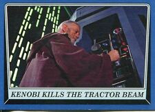Star Wars Rogue One Mission Briefing Blue Base Card #41 Kenobi kills the tracto