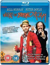 Where The Buffalo Roam - Blu ray NEW & SEALED - Bill Murray, Peter Boyle