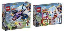 LEGO 41230, 41231 - Superhero Girls: Harley Quinn to the Rescue & Batgirl Batjet