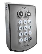 Somfy The Keypad Radio RTS is a wireless aluminium code panel product nr 1841030