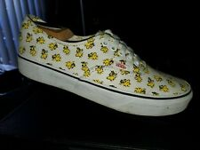 Vans X Peanuts Authentic Woodstock Bone VN0A38EMOQZ Men's Size: 9.5