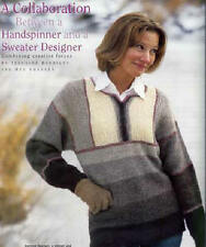 Spin-off magazine spring 2001:cashmere gloves;silk vest
