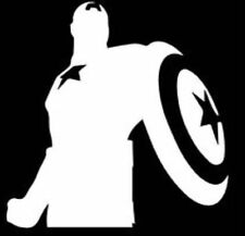 Captain America Vinyl Decal Sticker Car Truck Window