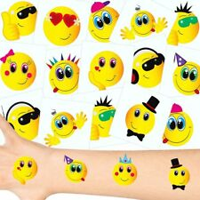German Trendseller® - Smiley Tattoos Set | NEU | Smiley Party