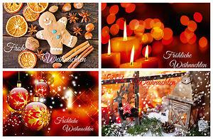 """Nostalgisches Weihnachtskarten-Set """"NOSTALGIE I""""- 24, 48, 96 oder 240 Stück"""