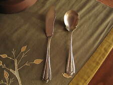 Silverplate Sugar Spoon Butter Knife Lesco Silver Company Altura