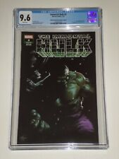 Immortal Hulk 2 (2019 Marvel) CGC 9.6 1st Doctor Frye, Dell'Otto Variant Cover