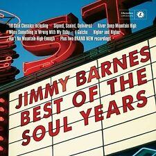 JIMMY BARNES (BEST OF THE SOUL YEARS CD - SEALED + FREE POST)